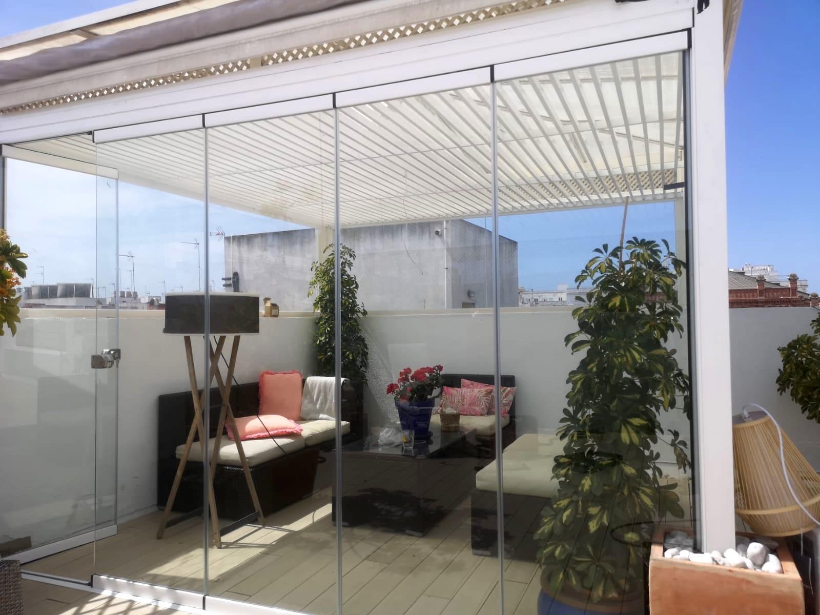 Cortina cristal Cádiz